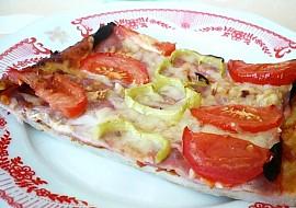 Jednoduchá pizza  domácí recept
