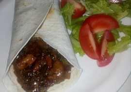 Labužnická směs v tortille recept
