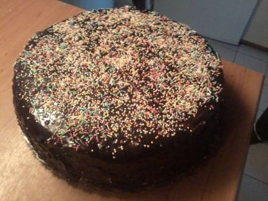 POMARANČOVA TORTA-NAŠA LEN TAK