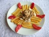 Kuřecí nudličky s kremžskou hořčicí recept