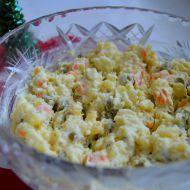 Dietnější bramborový salát recept