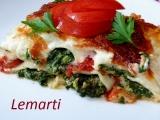 Zapečené cannelloni se špenátem recept