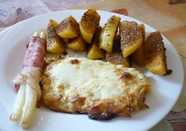 Kuřecí plátek pod sýrovou čepicí recept