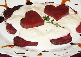 """""""Romantická večeře ve dvou"""": Srdíčka z červené řepy recept ..."""