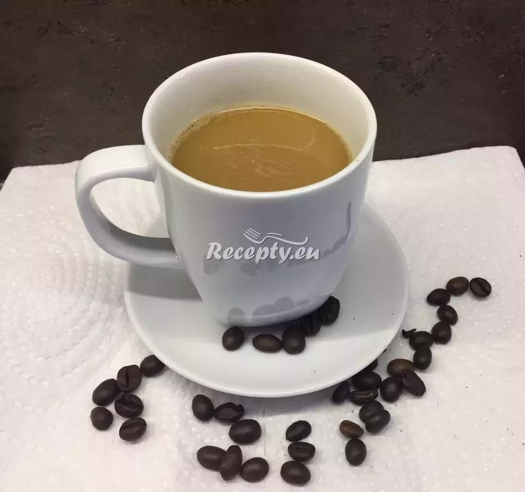 Císařská káva recept  teplé nápoje
