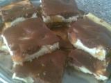 Litý koláč s tvarohem recept