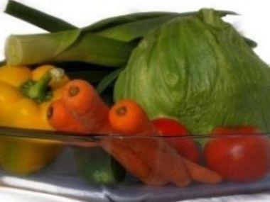 Zimní zeleninový salát