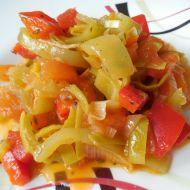 Zeleninové lečo s pestem recept