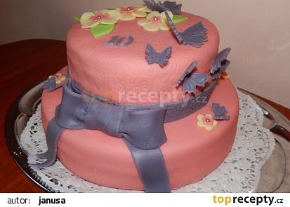 Motýlkový dort recept