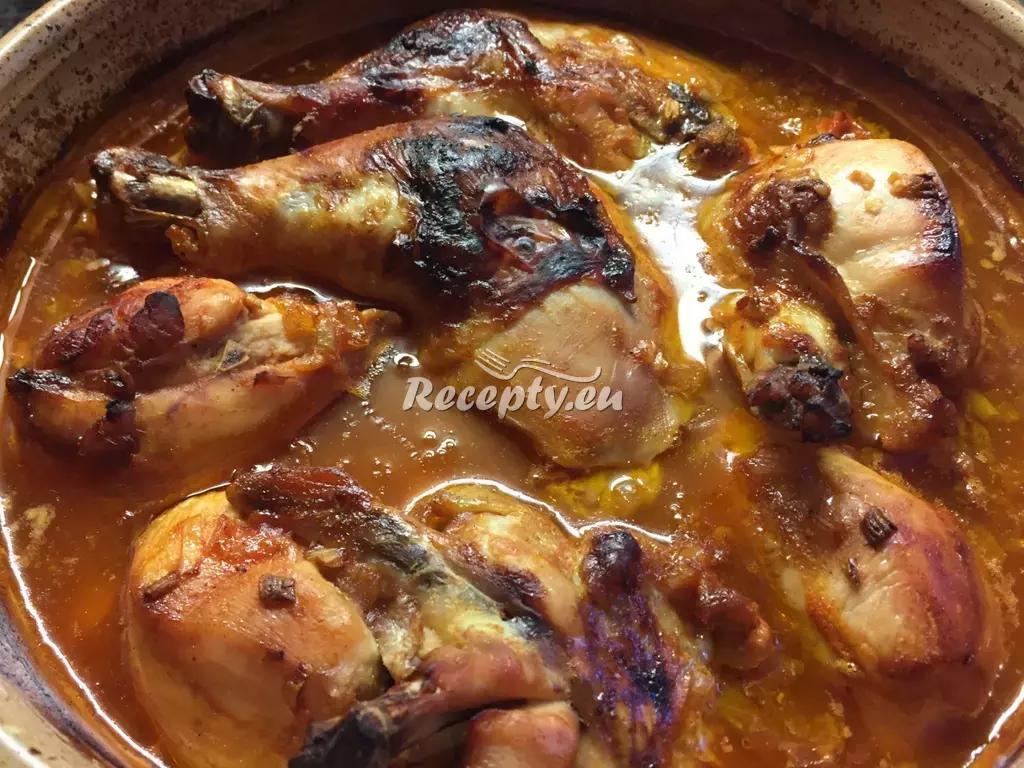 Labužnické kuře recept  drůbeží maso