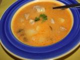 Polévka z masa a rajčat recept