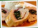 Kuřecí rolky se špenátem a sýrem recept