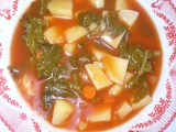 Mangoldová polévka recept