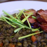 Zeleninová čočka s uzeným recept
