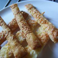 Listové sýrové tyčinky recept