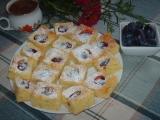 Cuketové řezy se švestkami recept