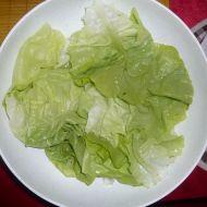 Hlávkový salát se zálivkou Vinaigrette recept