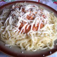 Jednoduché špagety recept