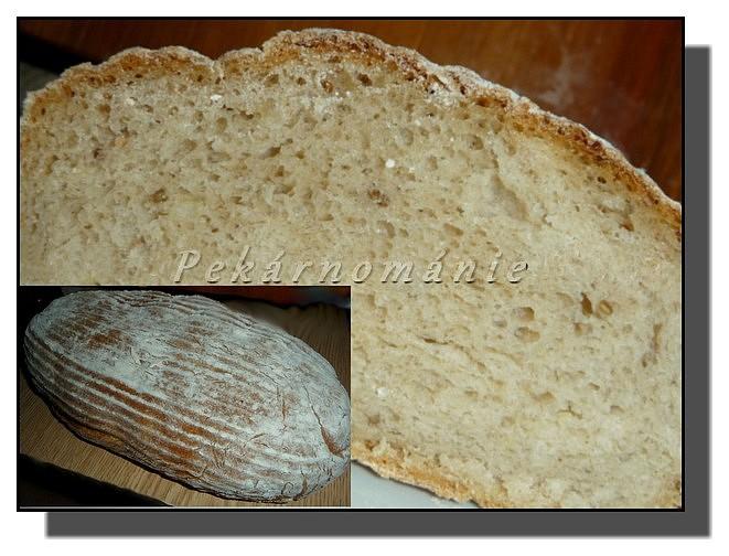 Bramborový chléb s kyškou recept