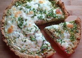 Bramborový koláč s brokolicí a šmakounem recept
