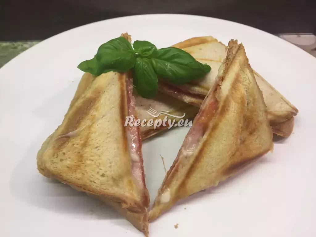 Sýrové toasty recept  topinky, toasty, sendviče