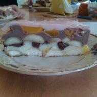Pudinkový ovocný dort recept