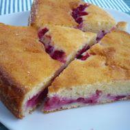 Rybízový koláč s tvarohem recept