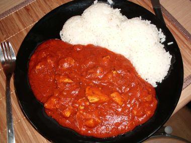 Ďábelská směs s rýží