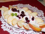 Jablkový salát s jogurtem recept