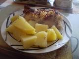 Bůčkové roládky s křenem a jogurtem recept