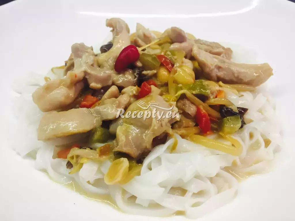 Kuřecí čína se zeleninou a houbami recept  drůbeží maso  Recepty ...