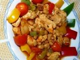 Krůtí s fazolí, paprikou a rajčaty recept