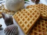 Křupavé vafle se zmrzlinou recept