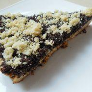 Makový drobenkový koláč recept
