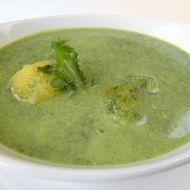 Bramborová polévka s rukolou recept