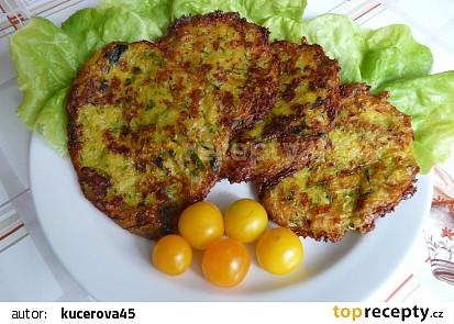 Cuketovo zeleninové placičky recept