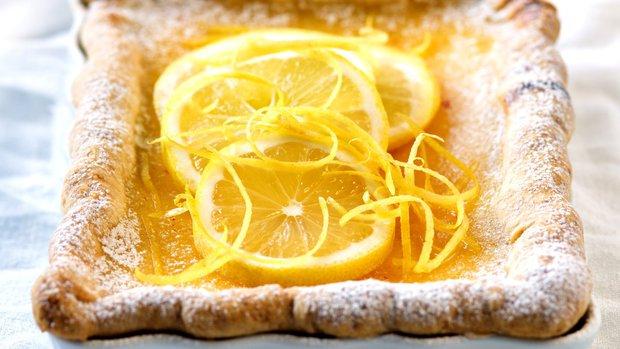 Podmáslový koláč s citronem