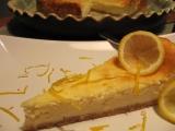 Citronovozázvorový cheesecake recept