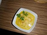Mrkvová polévka s haluškami recept