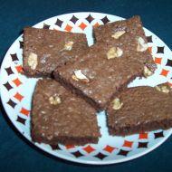 Koláč plný čokolády recept