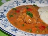 Kuřecí prsa v zeleninové krémové omáčce recept