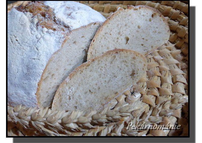 Chleba kynutý kefírovou houbičkou recept