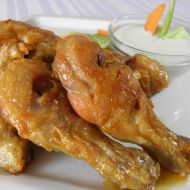 Pikantní kuřecí paličky recept