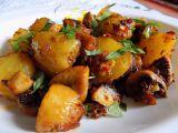 Pečené brambory se žampiony recept