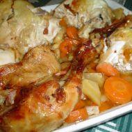 Kuře na divoko recept