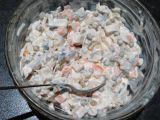 Můj rybí salát recept