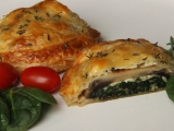 Žampiony  Wellington recept