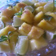 Opilý ananas recept