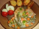 Zapečené plátky se zeleninou recept