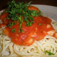 Krevety s červenou česnekovou omáčkou recept